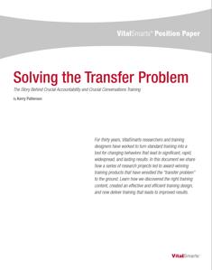 Solving the Transfer problem